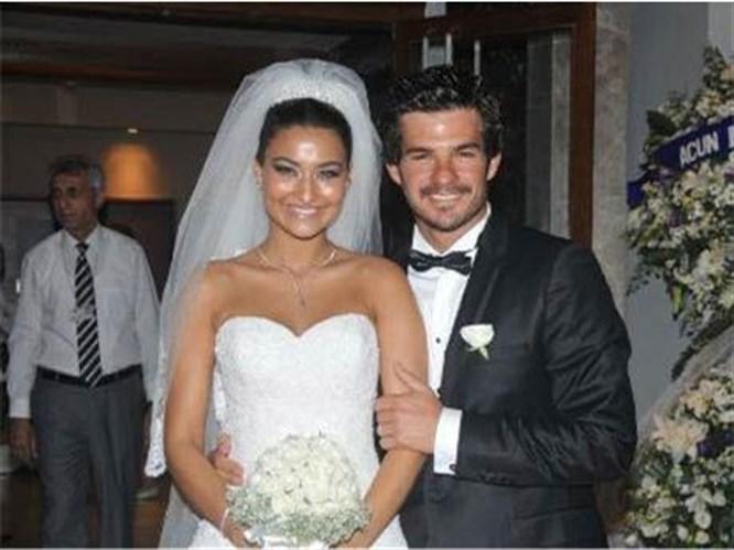 Hakan ile Gizem evlendi